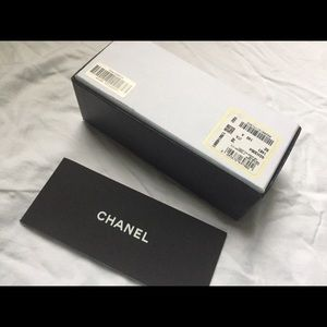 Chanel Sunglasses Box with Booklet